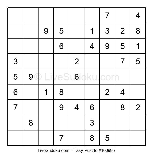 Beginners Puzzle #100995