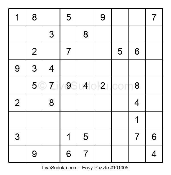 Beginners Puzzle #101005