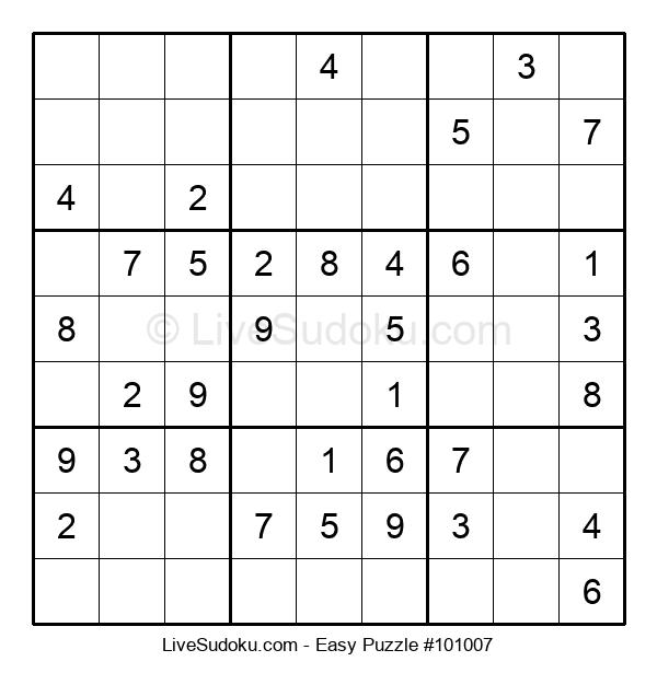Beginners Puzzle #101007
