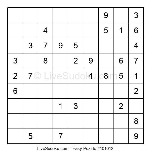Beginners Puzzle #101012