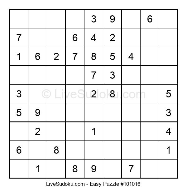 Beginners Puzzle #101016