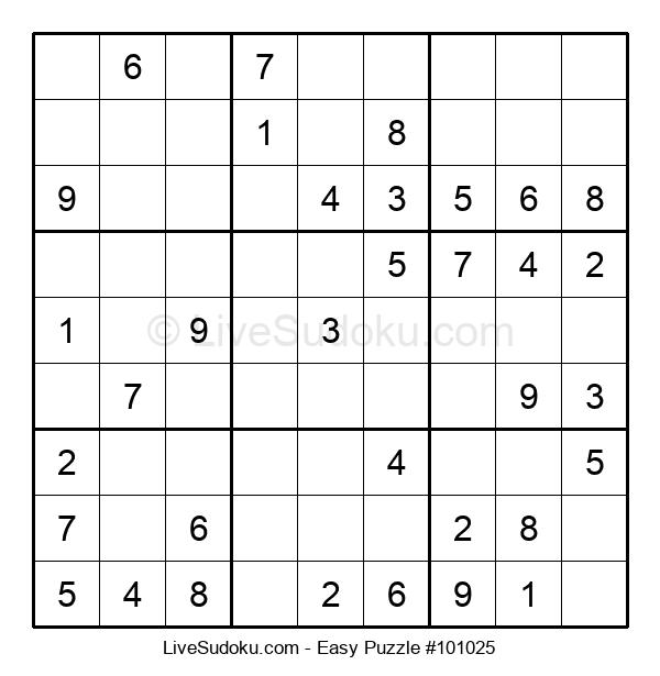 Beginners Puzzle #101025