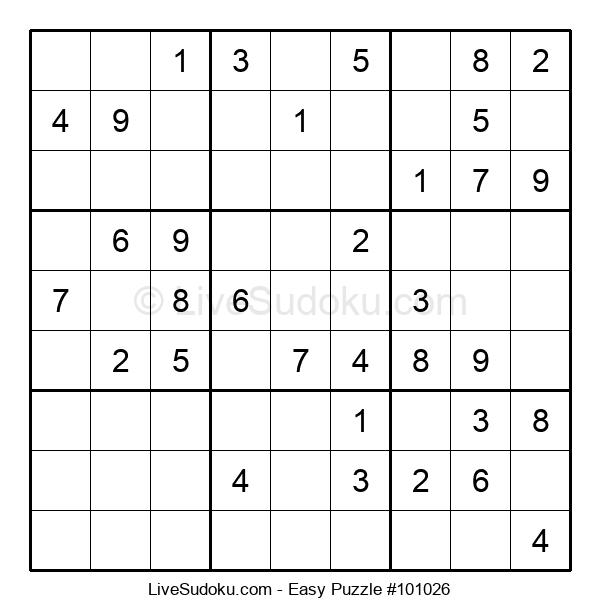 Beginners Puzzle #101026