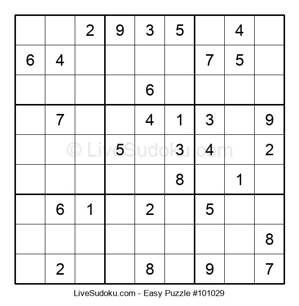 Beginners Puzzle #101029