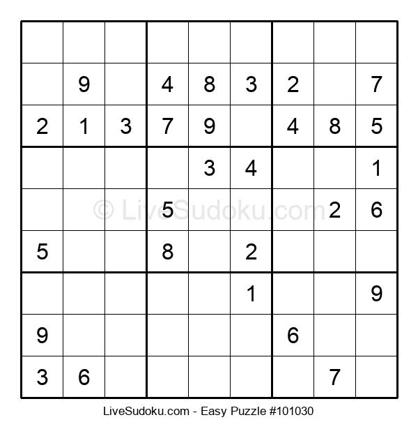 Beginners Puzzle #101030