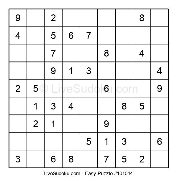 Beginners Puzzle #101044