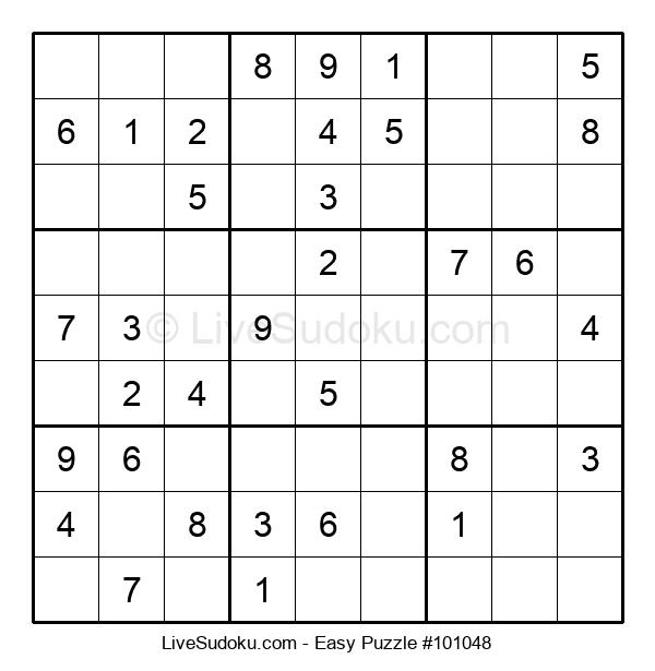 Beginners Puzzle #101048