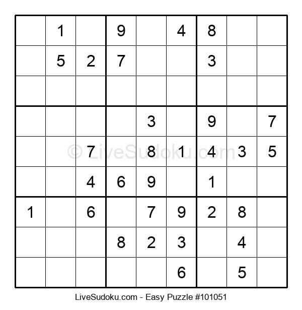 Beginners Puzzle #101051