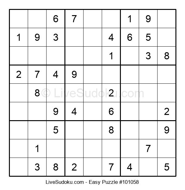 Beginners Puzzle #101058