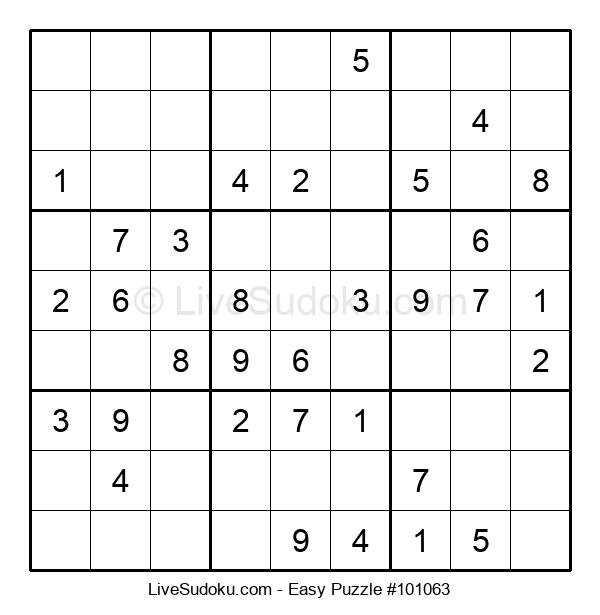 Beginners Puzzle #101063