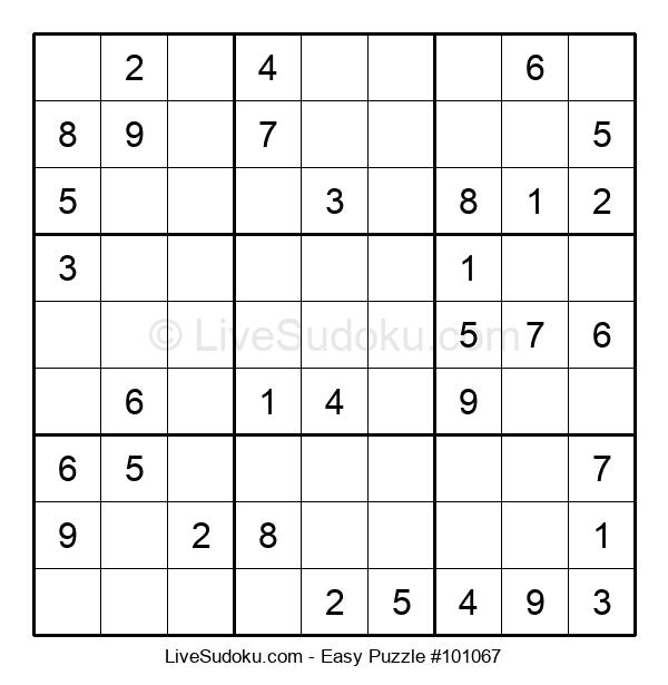 Beginners Puzzle #101067