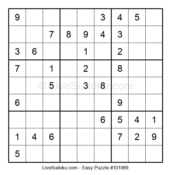 Beginners Puzzle #101069
