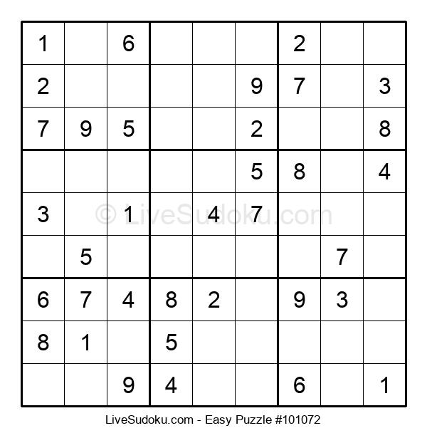 Beginners Puzzle #101072