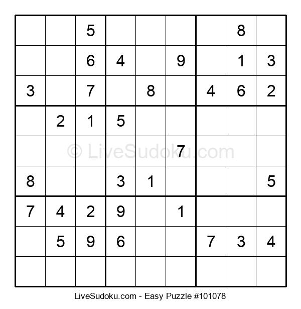 Beginners Puzzle #101078