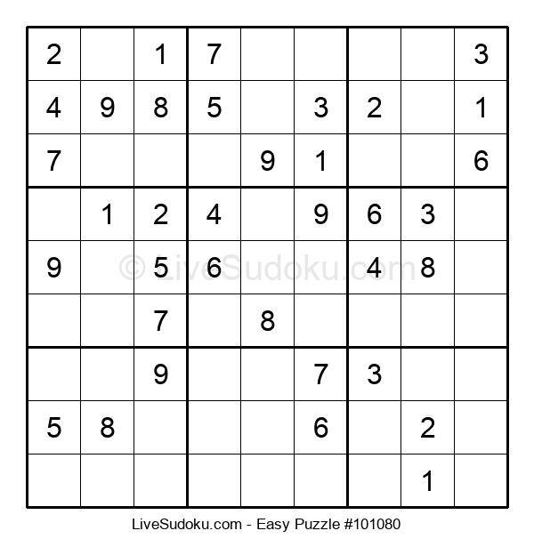 Beginners Puzzle #101080