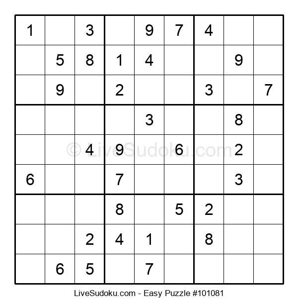 Beginners Puzzle #101081