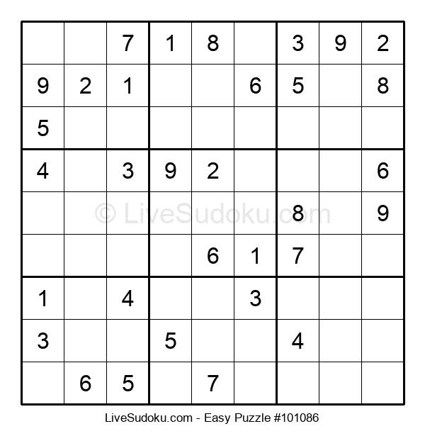 Beginners Puzzle #101086