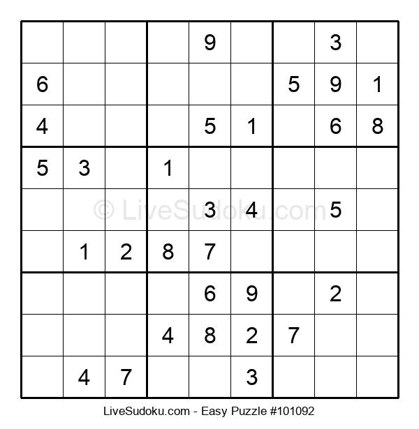 Beginners Puzzle #101092