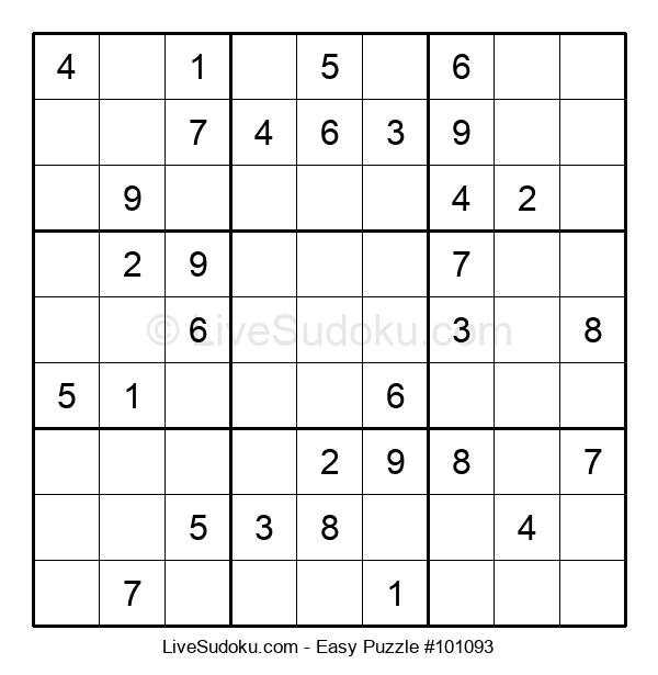 Beginners Puzzle #101093