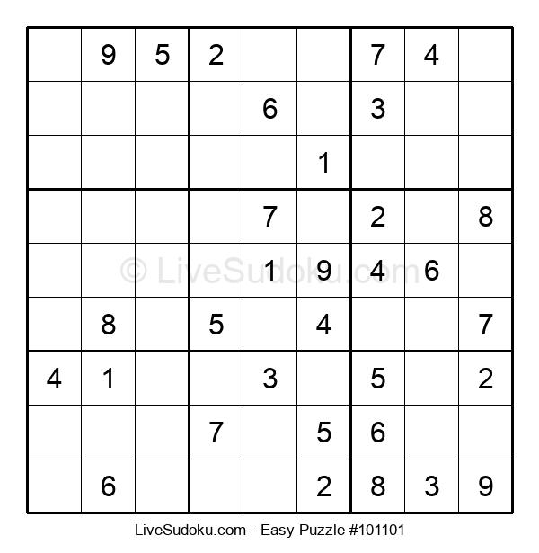 Beginners Puzzle #101101