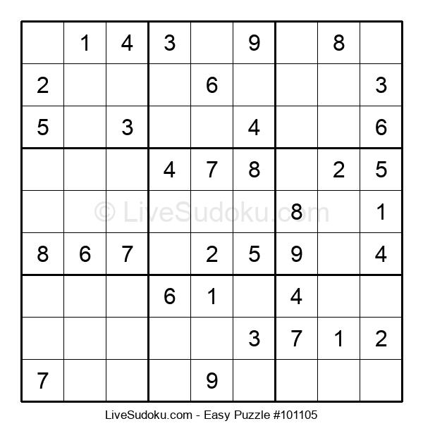 Beginners Puzzle #101105