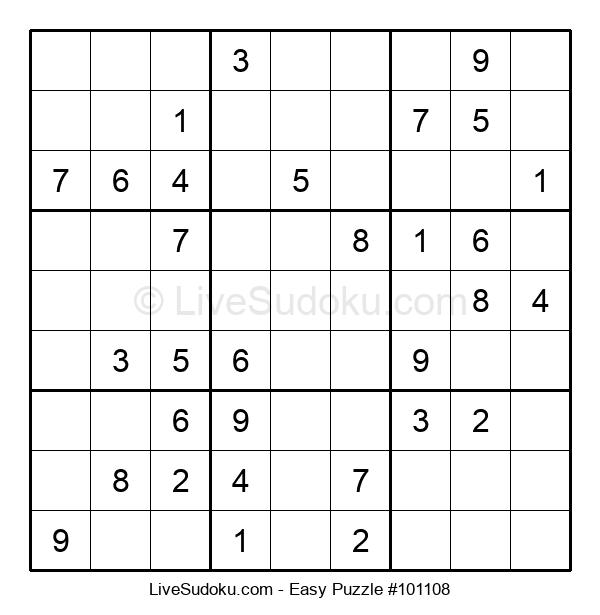 Beginners Puzzle #101108