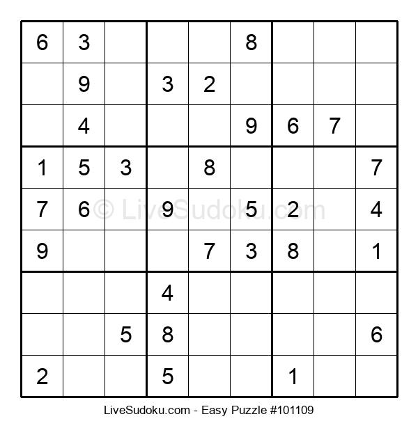 Beginners Puzzle #101109