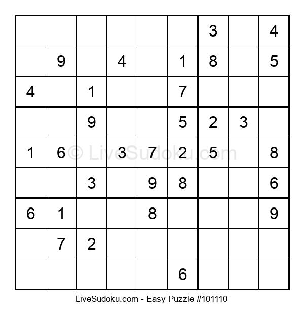 Beginners Puzzle #101110