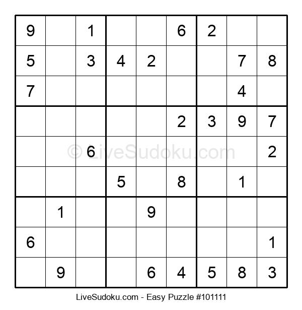 Beginners Puzzle #101111