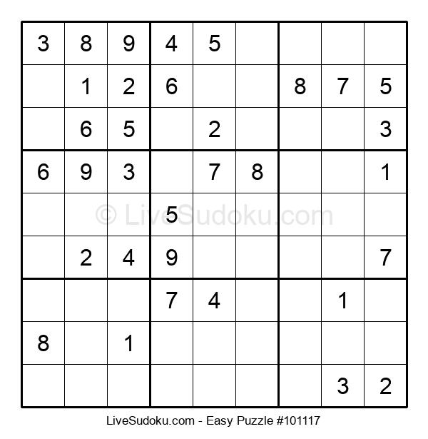 Beginners Puzzle #101117