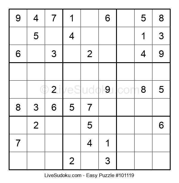 Beginners Puzzle #101119