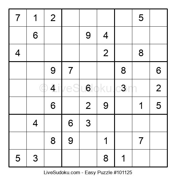 Beginners Puzzle #101125