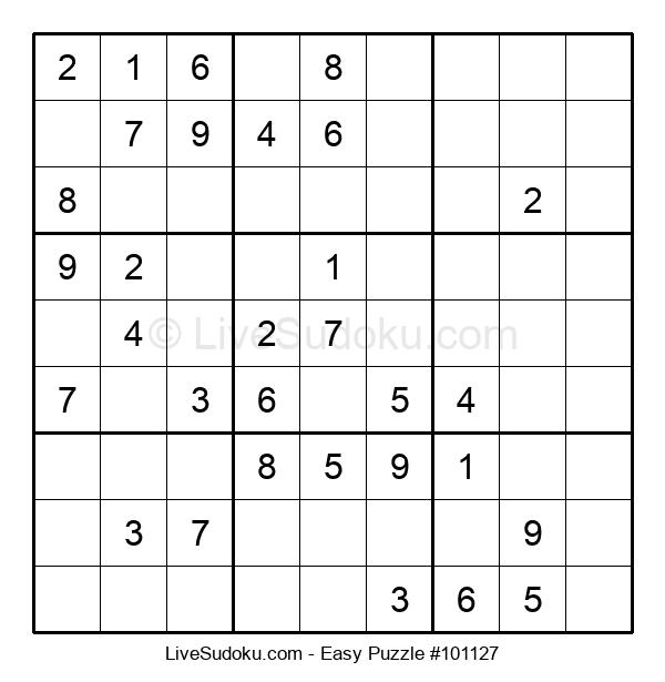 Beginners Puzzle #101127