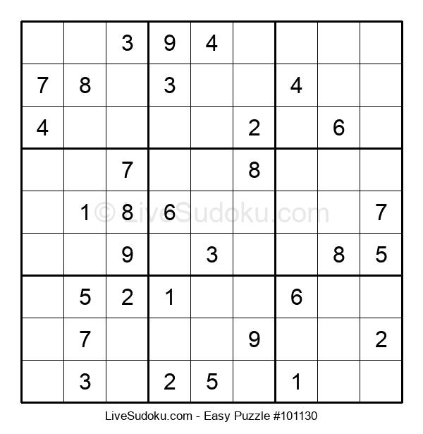 Beginners Puzzle #101130