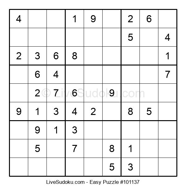 Beginners Puzzle #101137