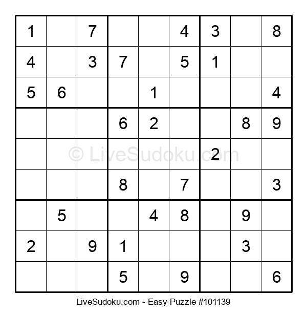 Beginners Puzzle #101139