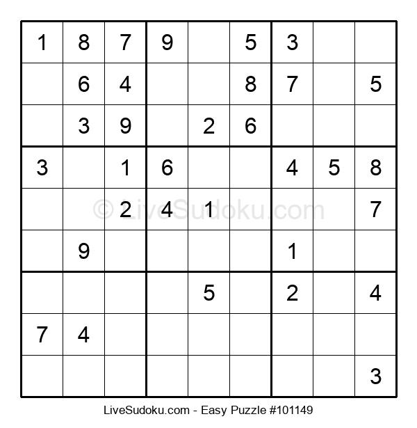 Beginners Puzzle #101149