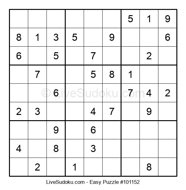 Beginners Puzzle #101152