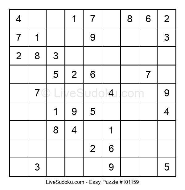Beginners Puzzle #101159
