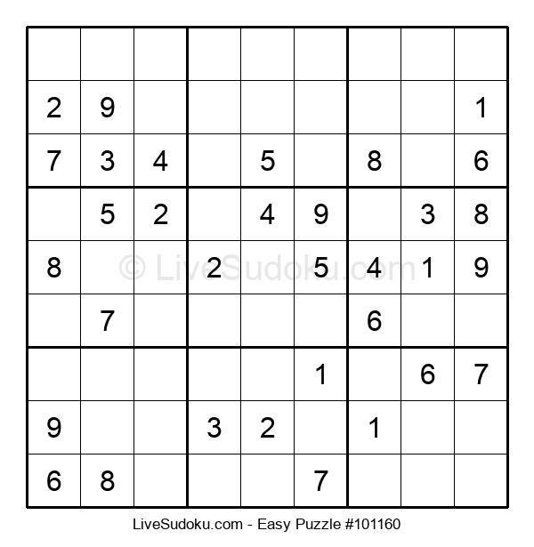 Beginners Puzzle #101160