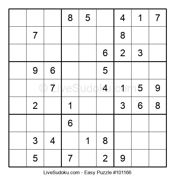 Beginners Puzzle #101166