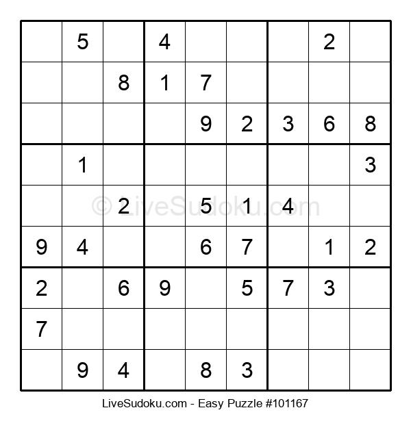 Beginners Puzzle #101167