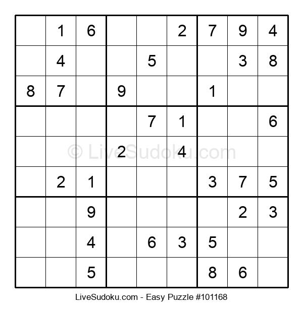 Beginners Puzzle #101168