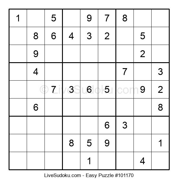 Beginners Puzzle #101170