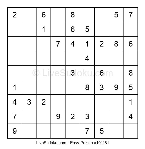 Beginners Puzzle #101181