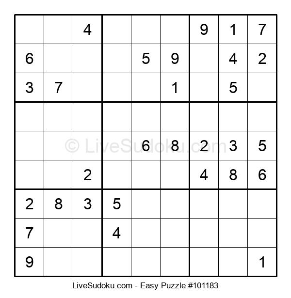 Beginners Puzzle #101183