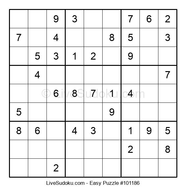 Beginners Puzzle #101186