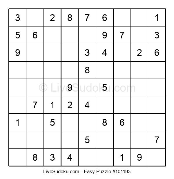 Beginners Puzzle #101193