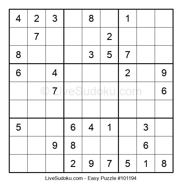 Beginners Puzzle #101194
