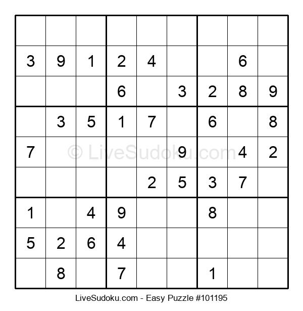 Beginners Puzzle #101195